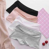 無痕平角內褲女 純棉100%全棉中腰透氣大碼女士四角褲成人夏季薄艾美時尚衣櫥