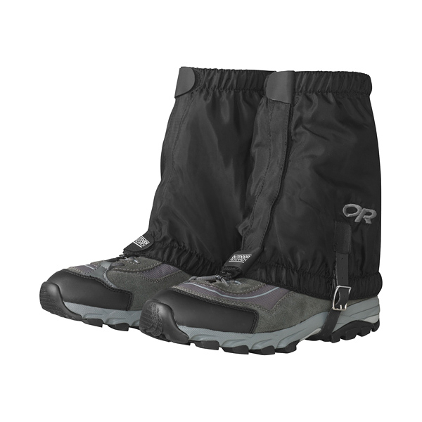 [OUTDOOR RESEARCH] (男) ROCKY MOUNTAIN LOW GAITERS 短綁腿 黑 (243097-00014)