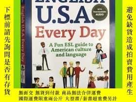 二手書博民逛書店English罕見U.S.A. Every Day 美式英語 常