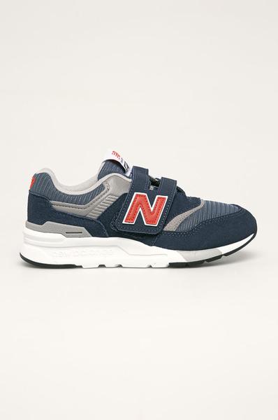 New Balance 中童寬楦藍色休閒鞋-NO.PZ997HAY