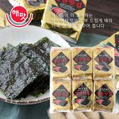 韓國 HAEMATT 京畿道 明太子味付海苔 (6gx12包) 72g 明太子海苔 味付海苔 海苔 海苔片 韓國海苔