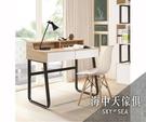 {{ 海中天休閒傢俱廣場 }} G-41 摩登時尚 書櫃系列 A476-01  提米3尺黑腳書桌