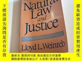 二手書博民逛書店Natural罕見Law and JustlceY241290 Lloyd Weinreb Harvard U