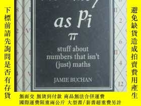二手書博民逛書店As罕見Easy As Pi: Stuff about numb