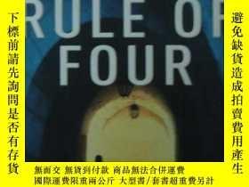 二手書博民逛書店THE罕見RULE OF FOURY12620 Ian Cald