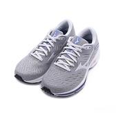 MIZUNO WAVE RIDER 24 WIDE 寬楦3E慢跑鞋 灰藍紅 J1GD200646 女鞋