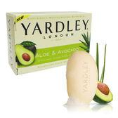 無外盒或凹損--美國原裝進口YARDLEY(蘆薈+酪梨)香皂4.25oz.原價$89↘特價$39