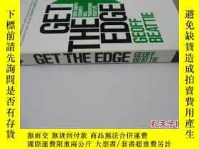二手書博民逛書店英文原版罕見Get The EdgeY7215 Geoff Beattie Headline ISBN:978