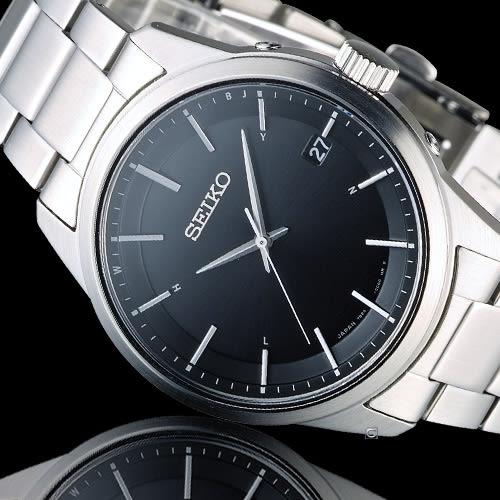 SEIKO Spirit 簡約時尚萬年曆太陽能電波腕錶 7B24-0BJ0D SBTM233J