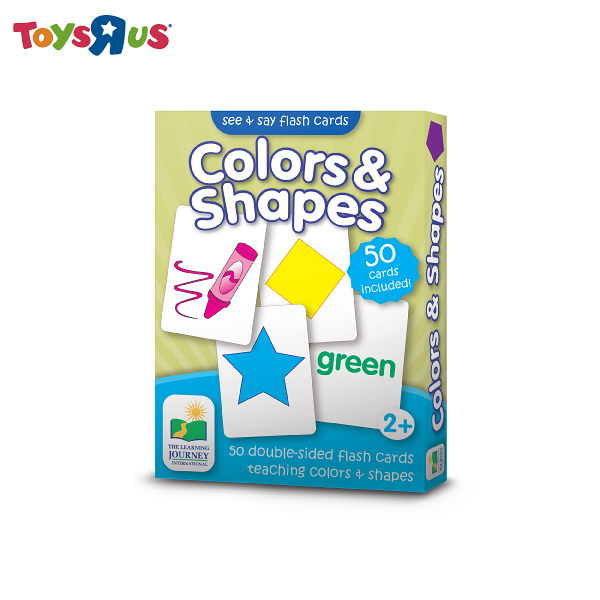 玩具反斗城  【THE LEARNING JOURNEY】學習卡_形狀與顏色