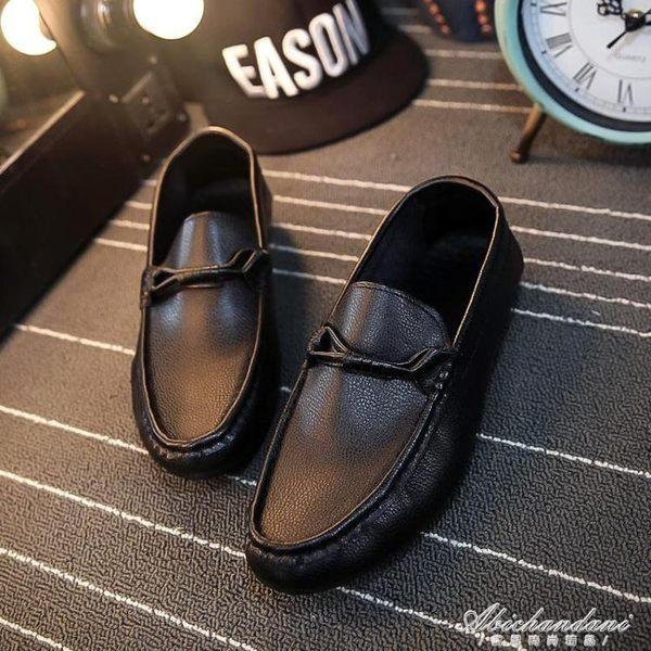 豆豆鞋男休閒鞋英倫時尚一腳蹬懶人鞋(建議拍一碼) 黛尼時尚精品