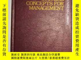 二手書博民逛書店英文原版罕見Information Systems Concep