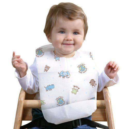 孕媽咪俏貝比 ~~ 美國Summer Infant-環保拋棄式圍兜20入