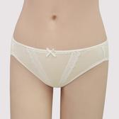 【曼黛瑪璉】Marie Q  低腰三角棉內褲M-XL(嫩芽黃)(未滿2件恕無法出貨,退貨需整筆退)