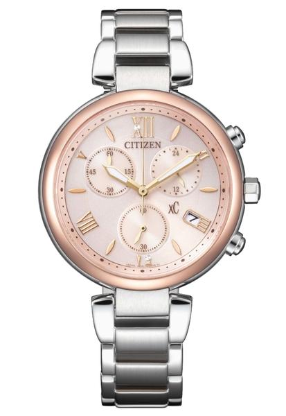 【分期0利率】 星辰錶 CITIZEN XC 三眼錶 藍寶石水晶鏡面 35mm 全新原廠公司貨 FB1455-50W