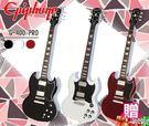 【小麥老師 樂器館】買1贈12!免運!EPIPHONE SG G-400 PRO 電吉他 一年保固