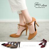 跟鞋.極簡美型尖頭繞踝綁結高跟鞋-FM時尚美鞋-JJ.Fresh