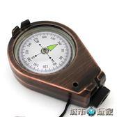 指南針 MUXINCAMP戶外登山指北針車載汽車羅盤指南針品質機芯精度高 城市玩家