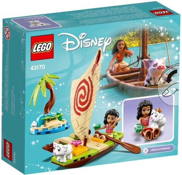 樂高LEGO DISNEY PRINCESS 海洋奇緣 莫娜的海洋歷險 43170 TOYeGO 玩具e哥