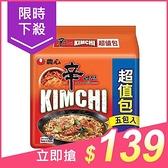韓國 農心 辛辣白菜風味拉麵(5入超值包)【小三美日】$149