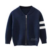 韓系運動風毛衣針織外套 童裝 保暖外套