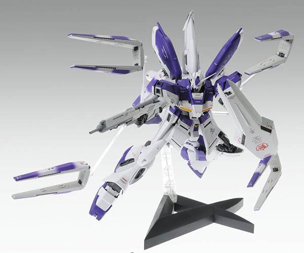 鋼彈小說版 逆襲的夏亞 BANDAI組裝模型 MG 1/100 RX-93-v2 Hi-Nu鋼彈Ver.Ka