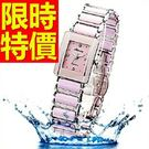 女手錶陶瓷錶時尚亮眼-美麗超夯俐落性感腕錶56v1【時尚巴黎】