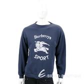 BURBERRY Roehampton 再版系列海軍藍平織運動衫 1820620-34