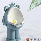 寶寶小便男孩站立掛墻式便斗男寶坐便器兒童馬桶尿壺【淘夢屋】