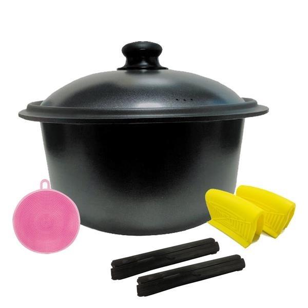 【南紡購物中心】派樂備長炭鈦合金遠紅外線元氣鍋