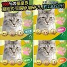 【🐱🐶培菓寵物48H出貨🐰🐹】快速出貨🚀》韋民 貓皇族 Okara sand 凝結式 豆腐砂貓砂-7L