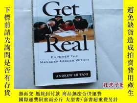 二手書博民逛書店GET罕見REAL:EMPOWER THE MANAGER-LE