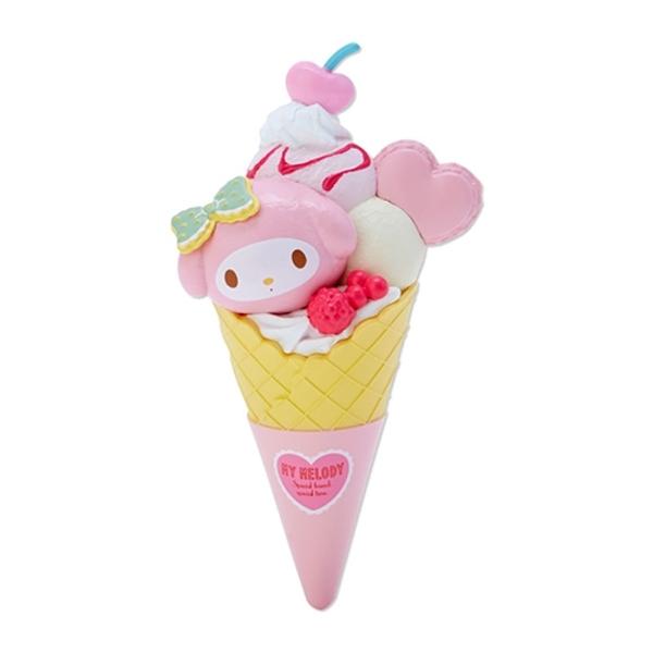 【震撼精品百貨】My Melody 美樂蒂~美樂蒂造型立體冰淇淋磁鐵*73753