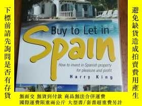 二手書博民逛書店Buy罕見to Let in Spain: How to Invest in Spanish Property f