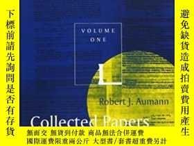 二手書博民逛書店Collected罕見Papers, Vol. 1Y256260 Robert J. Aumann The M