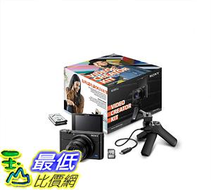 [8美國直購] Sony RX100M3 Video Creator Kit with Shooting Grip, Media Card & Extra Battery