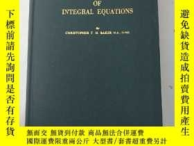二手書博民逛書店the罕見numerical treatment of inte