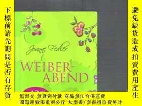 二手書博民逛書店德文原版小說罕見Weiberabend   Joanne Fed