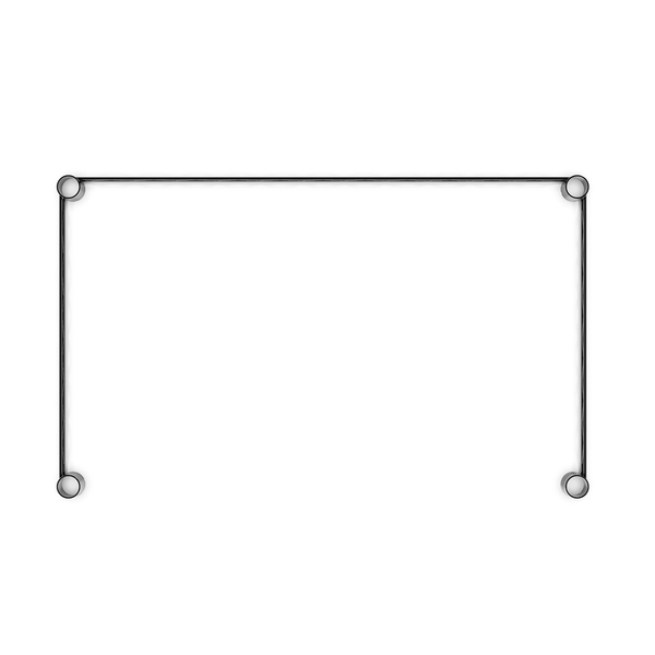 補強桿/圍籬/鐵架配件【配件類】75x45公分烤漆邊條ㄇ框 dayneeds