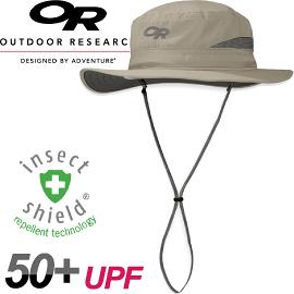 【Outdoor Research 美國 SENTINEL BRIM HAT 抗UV驅蚊中盤帽〈卡其〉】243381/中盤帽/防曬帽/遮陽帽