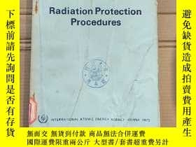 二手書博民逛書店radiation罕見protection procedures(P1653)Y173412
