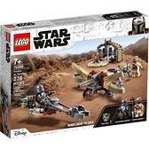 樂高積木LEGO《 LT75299 》STAR WARS™ 星際大戰系列 - 塔圖因的麻煩 / JOYBUS玩具百貨