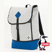 【CHUMS】 CH60-2074 SxN 雙面休閒 後背包-2491淺灰/深藍 戶外 旅遊