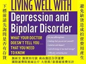 二手書博民逛書店Living罕見Well With Depression And Bipolar DisorderY36468