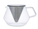 金時代書香咖啡 KINTO CARAT 玻璃茶壺 850ml KINTO-21681-850