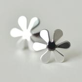 925純銀耳環(耳針式)-生日情人節禮物甜美六瓣花女飾品73ag110【巴黎精品】