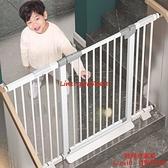 樓梯口護欄嬰兒兒童安全門寶寶圍欄防護欄柵欄室內寵物欄桿隔離門【時尚好家風】