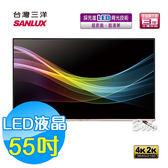 SANLUX 台灣三洋 55吋 LED液晶顯示器 液晶電視 SMT-55GA1(含視訊盒)