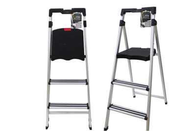 【好市吉居家生活】生活大師UdiLife LA3333 三階/大平台多功能鋁梯 樓梯 A字梯