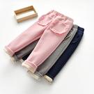 嬰兒保暖褲秋冬兒童燈芯絨加厚長褲男女童加絨褲子寶寶休閒褲棉褲